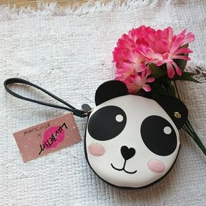 NWT Betsey Johnson • Baby Panda Coin Purse